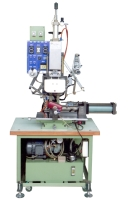 Hydraulic roller-type hot-stamping & transfer-printing machine for asymmetrical surfaces