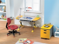 Computer Desk For Children-(Yellow)