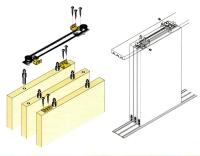 滑轮三门连动系统