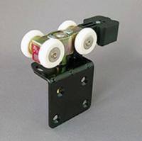 上下調整簡易安裝型摺門輪