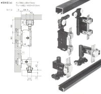 cabnet External folding door system