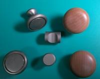 圆钮型把手(塑胶/锌合金)