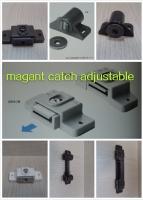 Magnet closet door catch