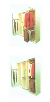 Movable clothes rack (tie / shirt / pants)