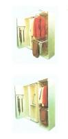 橱柜活动式挂架(领带/衣/裤)