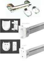 Closet brackets (plastic / zinc alloy)
