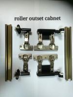 重型橱柜拉折门轮组