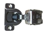Face Frame Hinge, 3-way/3-cam Adjustable for 1-1/4`` Frames