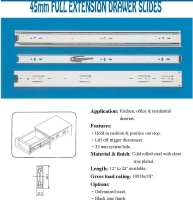Full Extension Drawer Slides