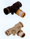 PB T-shaped threaded coupling