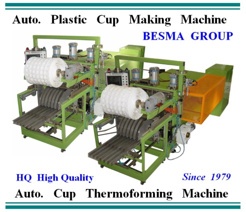 Auto. Plastic Sheet Thermoforming Machines