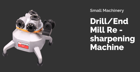 Small Machinery  Drill/End Mill Re-sharpening Machine
