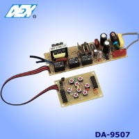 Digital Four-Step Dimmable Electronic Ballast