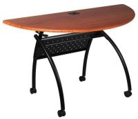 X腳半圓摺疊桌