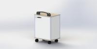 收纳盒工具柜车 - S