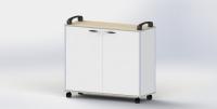 收纳盒工具柜车 - L