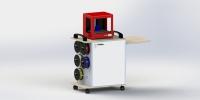 3D 列表机柜车