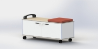 CENS.com TUB STORAGE CART