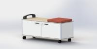 收納盒工具櫃車