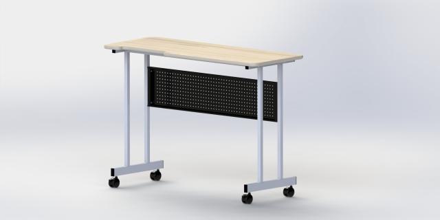 實驗站立桌