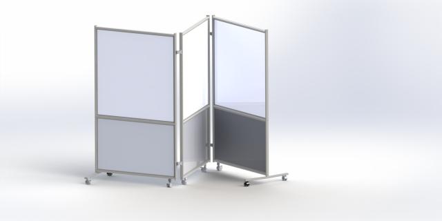 3 面白板屏风