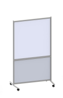 Magnetic Mobile Whiteboard Room Divider (74 CM)