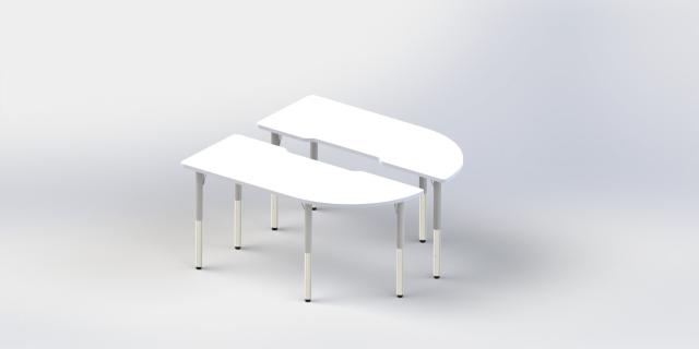 站立式研讨桌