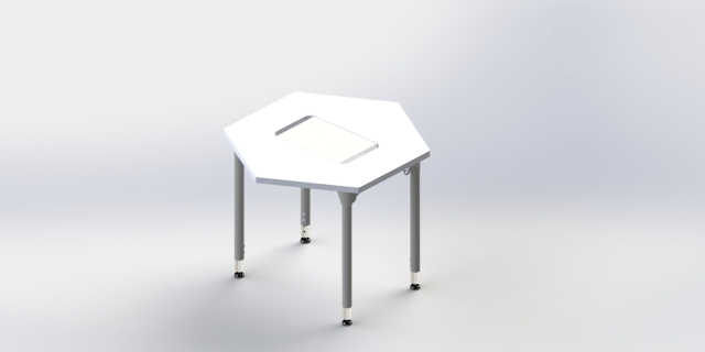Hexagon Configurable (with whiteboard)