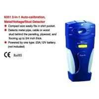 3-in-1 Auto-calibration metal/voltage stud detector
