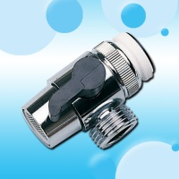 "CP BR Diverter W/Collar  1/2"" Bsp Male Adapter"