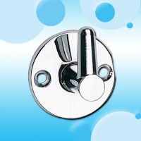 CP Round Pin Bracket Brass