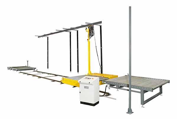 栈板输送带系统