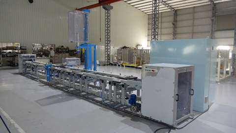 Pump Assembly line conveyor