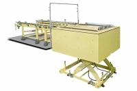 Chain conveyor with Hydraulic lifting platform