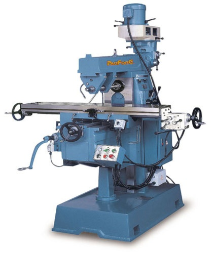 HORIZONTAL & VERTICAL MILLING NACHINE