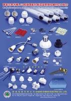 Brass Lamp Bases for Various Light Bulbs