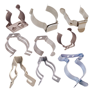 Light Tube Clips, Hose Clamps, Tool Clamps