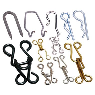 Metallic Hooks, Springs & Pins