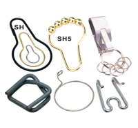 錀匙圈, 浴簾鉤, 狗鍊, 狗刺, 打包線調整環