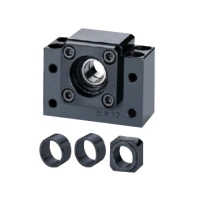 Ballscrew Support Unit, Fixed-Side Rectangular Type