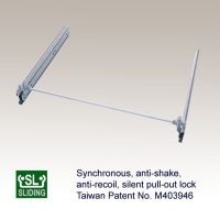 Synchronous, Anti-shake, Anti-recoil, Silent Pull-out Lock