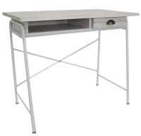 單抽書桌/鐵管書桌