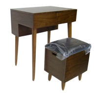 Vanity Table & Chair W/Lift-top