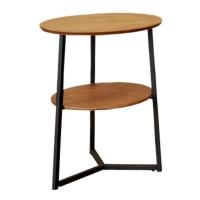 双层置物架/铁管边桌