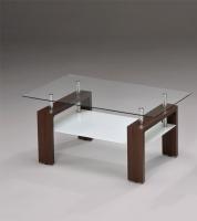 玻璃咖啡桌/置物茶几桌
