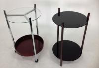 雙層玻璃桌/活動玻璃桌
