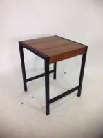 方形边桌/铁管边桌