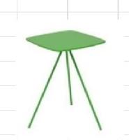 方形边桌/铁管茶几