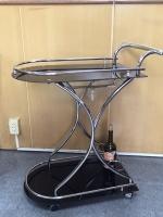 Glass Serving Cart