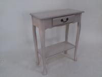 单抽置物桌/方形玄关桌